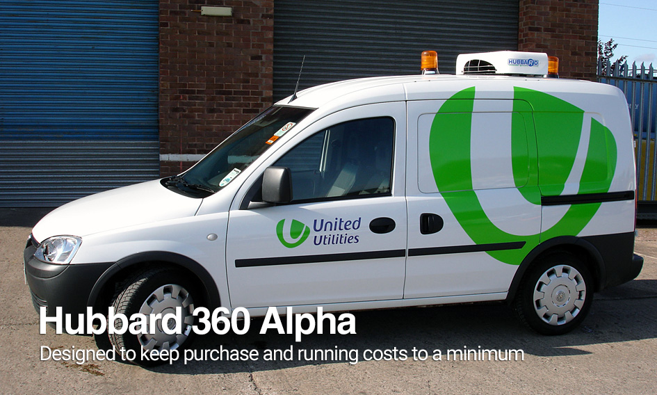 Hubbard Products | 360 Alpha Panel Van Refrigeration