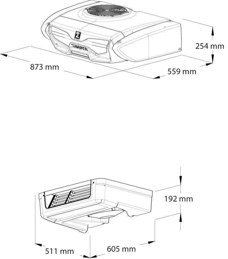 Z120B-dimensions