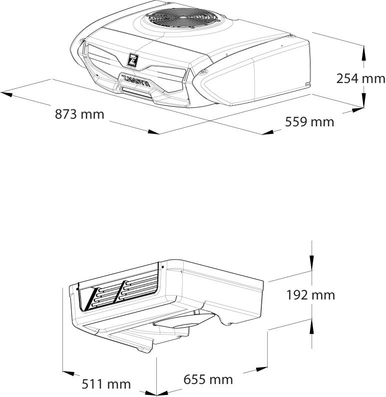 Z200-dimensions