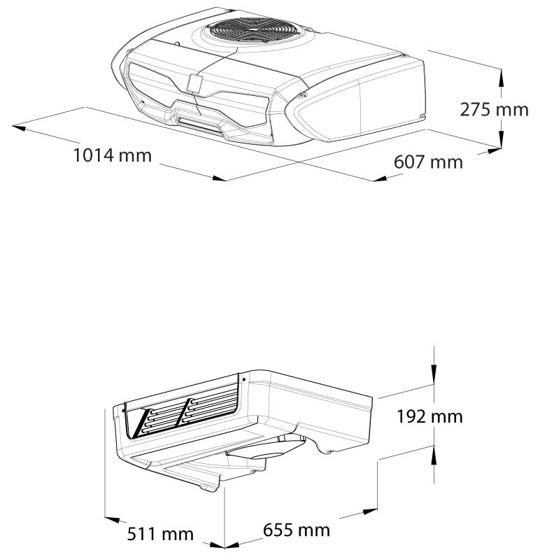 Z250-dimensions